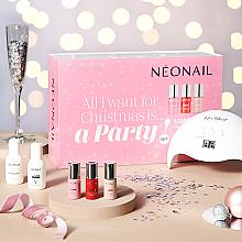 Parfüm, Parfüméria, kozmetikum Szett - NeoNail Professional Party Set (nail/polish/3x7.2 + led + nail/clean/50ml + rem/50ml + nail/wrarps/50pc + warstw/250pc + chopstick/10pc)