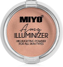 Parfüm, Parfüméria, kozmetikum Highlighter - Miyo Illuminizer Highlighting Powder