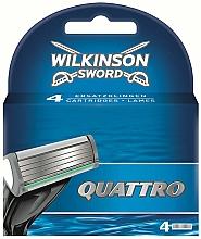 Parfüm, Parfüméria, kozmetikum Tartalék pengék, 4 db - Wilkinson Sword Quattro Cartridge Razor Blades