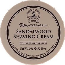 """Parfüm, Parfüméria, kozmetikum Borotva krém """"Szantál fa"""" - Taylor of Old Bond Street Sandalwood Shaving Cream Bowl"""