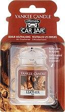 Parfüm, Parfüméria, kozmetikum Autóillatosító - Yankee Candle Car Jar Ultimate Leather