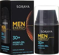 Parfüm, Parfüméria, kozmetikum Hidrogél, hidratál és mattít, +30 - Soraya Men Energy