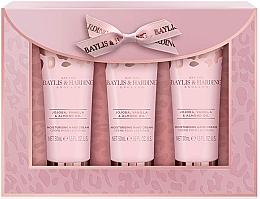Parfüm, Parfüméria, kozmetikum Szett - Baylis & Harding Jojoba, Vanilla & Almond Oil Hand Cream Set (h/cr/50mlx3)