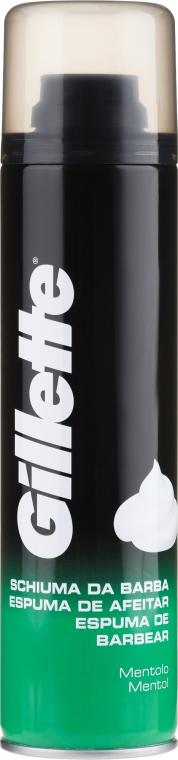"""Borotvahab """"Menta"""" - Gillette Menthol Shave Foam for Men"""