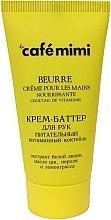 """Parfüm, Parfüméria, kozmetikum Tápláló kézápoló vaj """"Vitamin koktél"""" - Cafe Mimi Hand Cream Oil"""