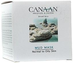 Parfüm, Parfüméria, kozmetikum Sármaszk normál vagy zsíros bőrre - Canaan Minerals & Herbs Mud Mask Normal to Oily Skin