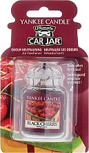 Parfüm, Parfüméria, kozmetikum Autóillatosító - Yankee Candle Car Jar Ultimate Black Cherry