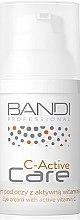 Parfüm, Parfüméria, kozmetikum Szemkörnyékápoló krém aktív C-vitaminnal - Bandi Professional C-Active Eye Cream With Active Vitamin C