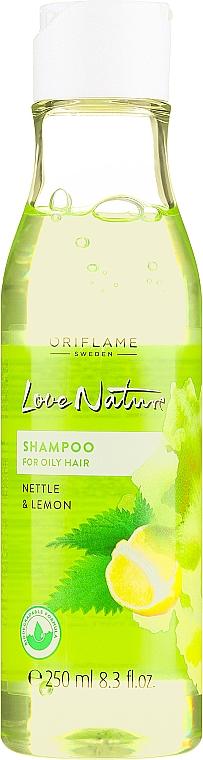 """Sampon zsíros hajra """"Csalán és citrom"""" - Oriflame Love Nature Shampoo — fotó N1"""