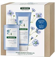 Parfüm, Parfüméria, kozmetikum Szett - Klorane Flax Fiber (shm/200ml + cond/200ml)