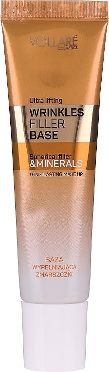 """Sminkalap """"Ráncfeltöltő"""" - Vollare Cosmetics Wrinkles Filler Base"""