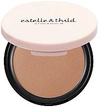 Parfüm, Parfüméria, kozmetikum Bronzosító arcpúdert - Estelle & Thild BioMineral Healthy Glow Sun Powder