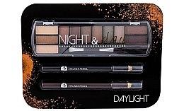 Parfüm, Parfüméria, kozmetikum Szett - Cosmetic 2K Night & Day (eye/sh/8,16g + eye/pen/2x0,6g)