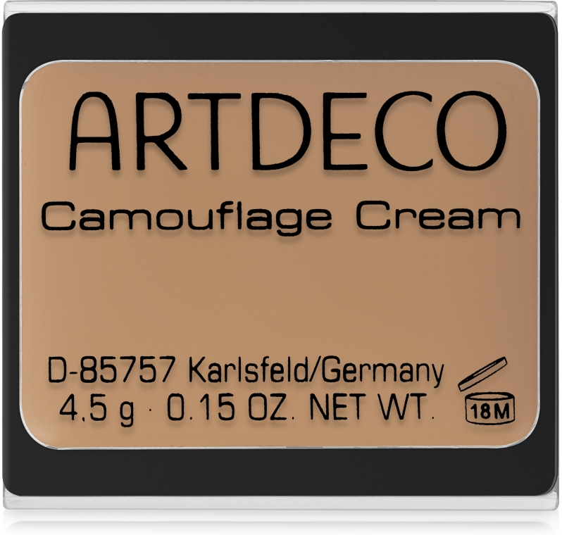 Vízálló maszkoló krém-korrektor - Artdeco Camouflage Cream Concealer