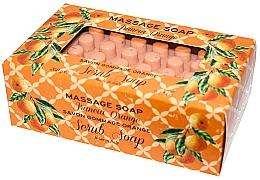 """Parfüm, Parfüméria, kozmetikum Szappan-radír masszázshoz """"Narancs"""" - Gori 1919 Massage Scrub Soap Orange"""