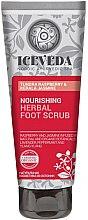 Parfüm, Parfüméria, kozmetikum Lábradír - Natura Siberica Iceveda Tundra Raspberry&Kerala Jasmine Nourishing Herbal Foot Scrub