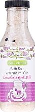 """Parfüm, Parfüméria, kozmetikum Fürdősó """"Levendula és kecske tej"""" - Belle Nature Bath Salt"""