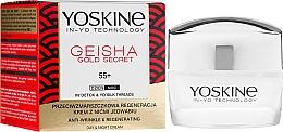 Parfüm, Parfüméria, kozmetikum Ránctalanító krém 55+ - Yoskine Geisha Gold Secret Anti-Wrinkle Regeneration Cream