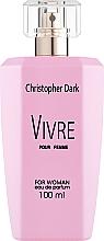 Parfüm, Parfüméria, kozmetikum Christopher Dark Vivre - Eau De Parfum