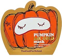 Parfüm, Parfüméria, kozmetikum Tápláló maszk tökkel és arannyal - Too Cool For School Pumpkin 24k Gold Mask