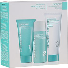 Parfüm, Parfüméria, kozmetikum Szett - Germaine de Capuccini Purexpert Natural Perfect 1-2-3 Oily (f/foam/30ml + fluid/50ml + f/cr/50ml)
