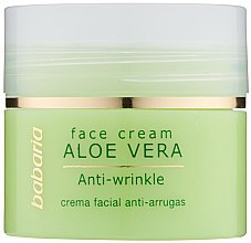 Parfüm, Parfüméria, kozmetikum Arckrém aloe verával - Babaria Aloe Facial Wrinkle Cream