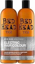 Parfüm, Parfüméria, kozmetikum Készlet - Tigi Bed Head Colour Godess (sh/750ml + cond/750ml)