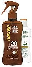 Parfüm, Parfüméria, kozmetikum Készlet - Babaria Sun (b/oil/200ml + balm/100ml)
