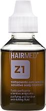 Parfüm, Parfüméria, kozmetikum Tisztító és puhító fluid fejbőr viszketése ellen - Hairmed Z1 Purifying And Lenitive Anti-Itching Fluid