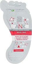 Parfüm, Parfüméria, kozmetikum Lábkrém-peeling - Bielenda ANX Podo Detox Foot Scrub Cream
