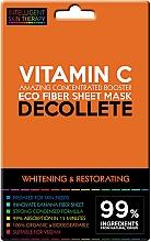 Parfüm, Parfüméria, kozmetikum Express maszk dekoltázsra - Beauty Face IST Whitening & Restorating Decolette Mask Vitamin C