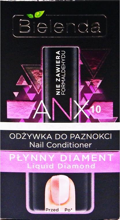 """Körömápoló kondicionáló """"Folyékony gyémánt"""" - Bielenda Liquid Diamond Nail Conditioner"""