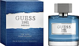 Parfüm, Parfüméria, kozmetikum Guess 1981 Indigo For Men - Eau De Toilette