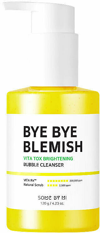 Élénkítő habmaszk - Some By Mi Bye Bye Blemish Vita Tox Brightening Bubble Cleanser