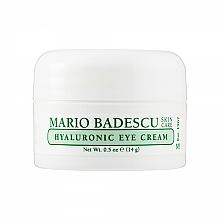 Parfüm, Parfüméria, kozmetikum Hiauloron szemkrém - Mario Badescu Hyaluronic Eye Cream