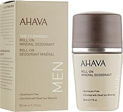 Parfüm, Parfüméria, kozmetikum Férfi dezodor - Ahava Time To Energize Magnesium Rich Deodorant Roll-On