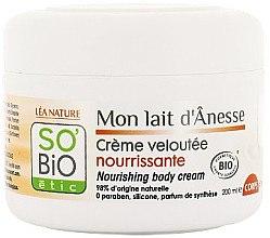 Parfüm, Parfüméria, kozmetikum Tápláló testkrém - So'Bio Etic Nourishing Body Cream
