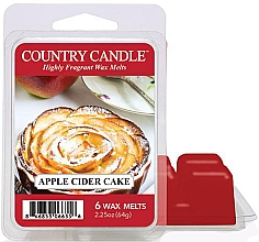 Parfüm, Parfüméria, kozmetikum Aroma viasz - Country Candle Apple Cider Cake Wax Melts