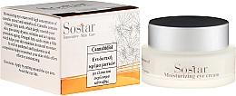 Parfüm, Parfüméria, kozmetikum Hidratáló szemkrém kender kivonattal - Sostar Cannabisoil Moisturizing Eye Cream of Cannabis Extract