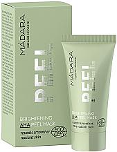 Parfüm, Parfüméria, kozmetikum Frissítő peeling-maszk - Madara Cosmetics Brightening AHA Peel Mask