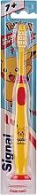 Parfüm, Parfüméria, kozmetikum Gyerek fogkefe pokémonnal, sárga - Signal Kids Ultra Soft 7+ Years