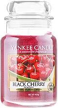 Parfüm, Parfüméria, kozmetikum Illatgyertya üvegben - Yankee Candle Black Cherry