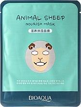 """Parfüm, Parfüméria, kozmetikum Szövetmaszk """"Bárányka"""" - Bioaqua Animal Sheep Nourish Mask"""