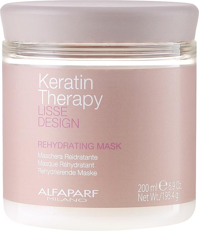 Hidratáló hajmaszk - Alfaparf Lisse Design Keratin Therapy Rehydrating Mask