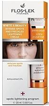 Parfüm, Parfüméria, kozmetikum Szeplő és pigmentfolt világosító krém - Floslek White & Beauty Intense Spots And Freckles Lightening Cream
