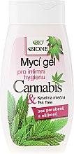 Parfüm, Parfüméria, kozmetikum Intim mosakodó gél - Bione Cosmetics Cannabis Intimate Lactic Acid and Tea Tree Wash Gel