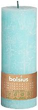 Parfüm, Parfüméria, kozmetikum Henger alakú gyertya, világos kék, 190/68 mm - Bolsius