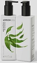 Parfüm, Parfüméria, kozmetikum Zöld tea és citrom tápláló kéz- és testápoló - Kinetics Green Tea & Lemon Lotion