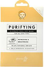 "Parfüm, Parfüméria, kozmetikum Alginát arcmaszk ""Tisztítás"" - Pharma Oil Purifying Alginate Mask"