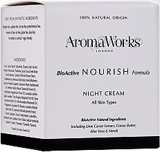 Parfüm, Parfüméria, kozmetikum Tápláló éjszakai krém - AromaWorks Nourish Night Cream